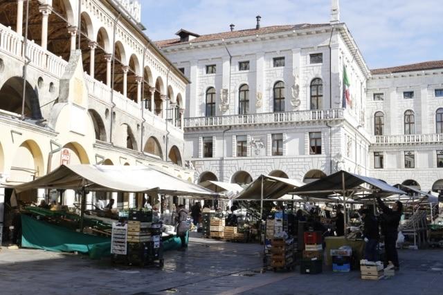 Piazza delle Erbe di Padova