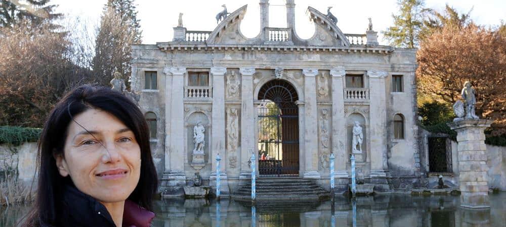 Giardino monumentale di Valsanzibio - dettaglio. Tour spirituale sui colli Euganei con Isabella Bariani, guida professionale di Venezia