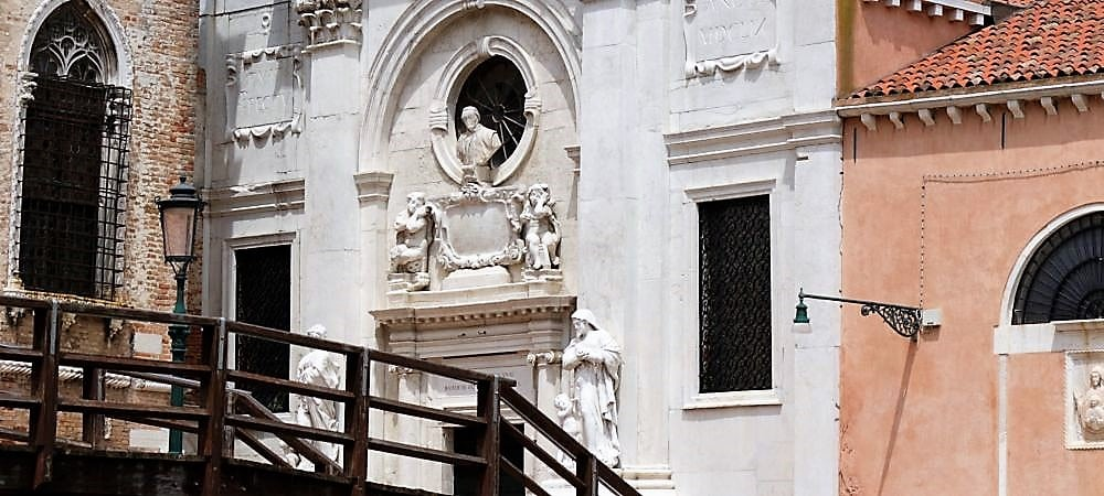 Church of the Abbey of Misericordia. Private guided tour to explore small churches in venice